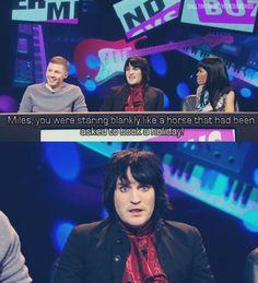 Never Mind the Buzzcocks British Humor, British Comedy, Russell Howard, Julian Barratt, The Mighty Boosh, Noel Fielding, Inevitable, Cool Names, Hilarious