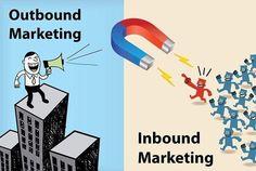 Así de fácil es distinguir el Outbound Marketing del #Inbound Marketing. #MarketingDigital