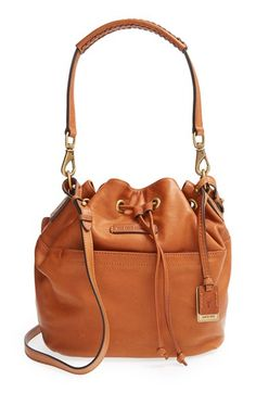 Frye+'Jenny'+Leather+Drawstring+Satchel+available+at+#Nordstrom