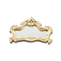 Ornate Antique-Style Mirror