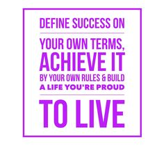 Biz Tip | Define success on your own terms