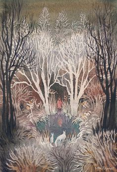 "Ulla Thynell, ""Frost"".  Love."