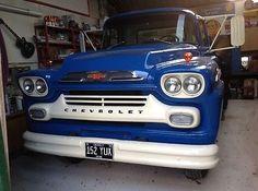 eBay: 1959 Chevrolet Viking twin wheel flat bed truck #classiccars #cars ukdeals.rssdata.net