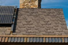 EcoStar's Seneca Shake™ roofing tiles are custom crafted using real cedar shakes as a template to create an intricate texture that truly appears natural. Solar Energy Panels, Best Solar Panels, Solar Shingles, Solar House, Solar Charger, Solar Energy System, Renewable Energy, Outdoor Decor, Photovoltaic Cells