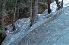Frozen flash flood