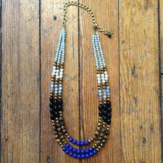 Colorblock Combination Necklace