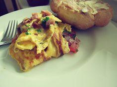 Karolínina vyhlášená omeletka.