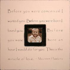 Sugarboo Designs Photobox Frame, Before You Were Conceived, Pink, http://www.amazon.com/dp/B007E9OCFE/ref=cm_sw_r_pi_awdl_-M11ub08CV5AA