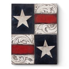 "Sid Dickens - The Star-Spangled Banner Memory Block ""O long may it wave o'er the land of the free and home of the brave!"