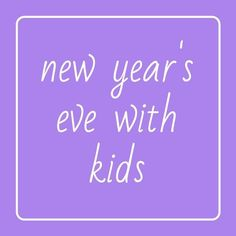 New Years With Kids, New Years Countdown, Family Activities, New Years Eve, Arts And Crafts, Art And Craft, Art Crafts, Crafting
