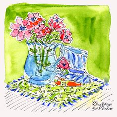 Our print designers are inspired by Matisse today. What painter or artist inspires you the most, Lilly Lovers? #lilly5x5