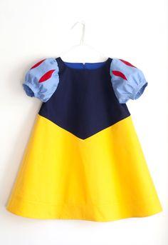 Lumikin puku / A little Snow White costume #bb #baby