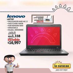 Los #laptop siempre son necesarias puedes obtener este especial en nuestras tiendas. Oferta válida hasta el 30 de agosto 2016