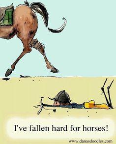 I've fallen hard for horses!