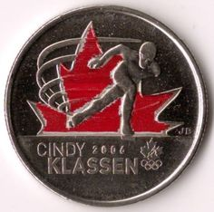 Canadian Coin Collection: Cindy Klassen (Colored) - 2010 Vancouver Olympics