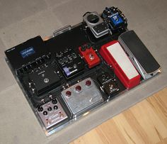 "Pedal board from The ""Neatest"" pedal board thread!"
