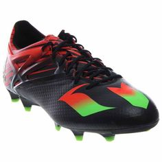 reputable site 176d8 2b938 Adidas Messi 15.1 Black Solar Soccer Shoes 10.5