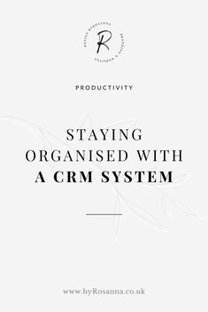 organised with a CRM system - why keep it all in your head when there's a tool for that? Email Marketing Tools, Sales And Marketing, Business Entrepreneur, Business Tips, Business Coaching, Social Media Scheduling Tools, Crm Tools, Crm System, Time Management Tips