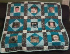 Photo Quilt  want so bad.  love                                                                                                                                                                                 More