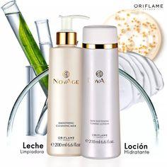 Limpiadores de rostro NovAge by Oriflame Cosmetics ❤MB