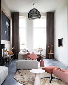 Awesome modern farmhouse living room are readily available on our internet site. Living Room Inspiration, Interior Inspiration, Interior Ideas, Home Living, Living Spaces, Living Room Designs, Living Room Decor, Dining Room, Modern Apartment Decor