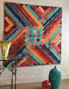 Chinook Quilt Pattern Pieced EB