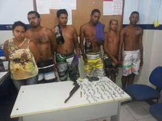 Blog do Oge: Grupo é preso com drogas e arma de fogo em Goiana