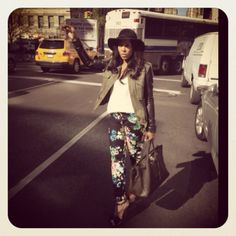W.O.W Wednesday!Fashion Dossier: Veda Jkt from @Shopbop,Miguel Allegra Tank,H pants,DSquared Booties,Marc Jacobs Hat