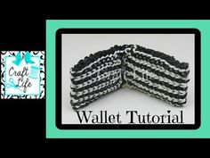 Rainbow Loom WALLET (1 loom). Designed and loomed by Jacy at Craft Life. Click photo for YouTube tutorial. 06/06/14.