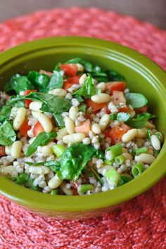 French Bean and Buckwheat Groat Salad from Nutritious Eats