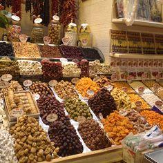 Egyptian Spice Bazaar #Istanbul http://www.amyriolo.com       http://www.altiramisu.com/about-the-chef/ #twochefsculinarycruise