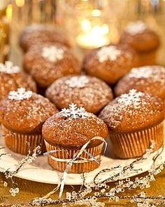 Muffins façon pain d'épices au miel