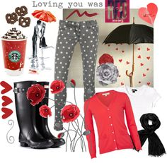 """""""Loving you was RED"""" by horsehair2 on Polyvore"""