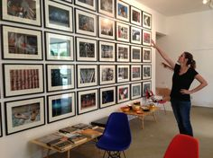 """Great interview with Llisa Demetrios, archivist of Eames Office and sculptor featured in The California Museum's exhibit """"Eames Generations: A Legacy of California Design."""" The photos shown here were all taken by her grandfather, Charles Eames."""