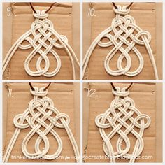 Roundup of 20 modern macrame projects -- retro macrame crafts and DIY. A roundup of 20 modern MACRAME PROJECTS -- retro macrame crafts and DIY. Macrame home decor, jewelry, accessories, and more. Macrame Colar, Macrame Necklace, Micro Macrame, Diy Necklace, Macrame Modern, Diy Collier, Macrame Hanging Planter, Rope Crafts, Diy Crafts