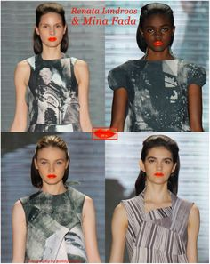 These lips don't lie, Academy of Art University images you should give a try (www.apparelnews.net/fashion/slideshows/single?fashion_slideshow_id=2043) #apparelnews #runway #fashion #AAU #show #lips