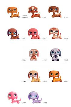 Nicole`s LPS blog - Littlest Pet Shop: Pets: Dachshund