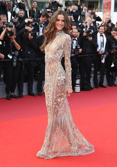 "Izabel Goulart Photos - Izabel Goulart attends the ""The Beguiled"" screening during the annual Cannes Film Festival at Palais des Festivals on May 2017 in Cannes, France. - 'The Beguiled' Red Carpet Arrivals - The Annual Cannes Film Festival Izabel Goulart, Event Dresses, Formal Dresses, Fashion Show, Fashion Outfits, Fashion Weeks, London Fashion, Style Fashion, Palais Des Festivals"