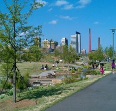 Railroad Park, Birmingham, Alabama photo by Amy Jones