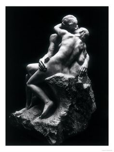 """""""It reminded Julia of Rodin's sculpture, The Angel's Kiss, so she wondered if the photographer had been inspired by that work."""" p167GI"""