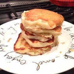 Fluffy pancakes au lait ribot un goût de Bretagne dans la cuisine