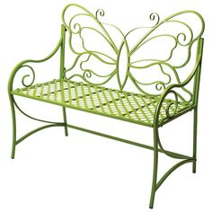 I REALLY need this bench for my butterfly garden that I'm creating.  I want to paint the seat black and the back (butterfly) orange to represent a Monarch Butterfly...