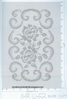 Filet Crochet Doilies