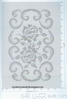Needle-Works Butterfly: Filet Crochet Doilies With Patterns
