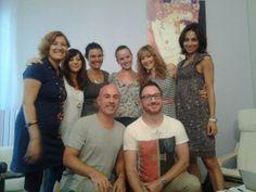 August 2013 Stella Cadente team meeting, Milano Pisa, Milano, Torino, Parma, Brescia, Firenze and Roma