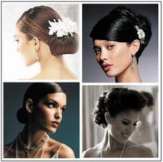 Vintage or Modern?  :  wedding hair montreal Updos2 Flamingo