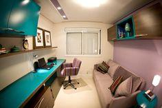 Home Office Colorido (De INOVA Arquitetura)