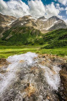 Mountain Stream, Zell am See, Salzburg, Austrian Alps