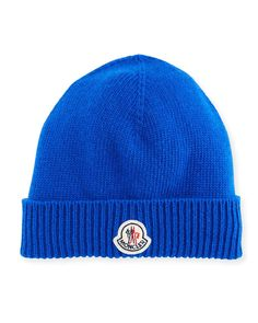 3004c875bfecf Moncler Men's Berretto Wool Beanie Hat