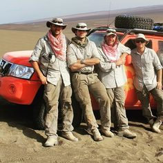 "Toughest guys right here   ""@maxadvexp: #throwbackwednesday Driven to Extremes - Taklamakan Desert  #neilhodgson #henrycavill #macmackenney #paulmarsh #shellhelix #nissanpatrol #adventure #desert."" - @HenryCavill's next desert adventure will be in #SandCastle due out later this year. He plays a #US #SpecialForces Capt. in the based on real life war drama directed by #FernandoCoimbra."